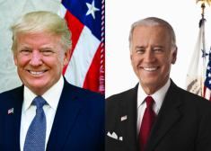 Trump Biden side by side