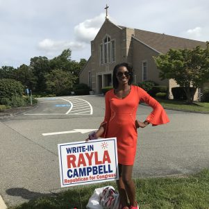 Rayla Campbell Patiently Waiting To See If She Makes The November Ballot