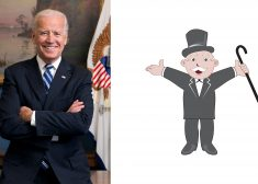 Joe Biden and Monopoly Man Image — Version # 1 — No Cropping — Right Half Adobe Images — Saved Tuesday 9-22-2020