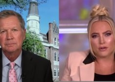 John Kasich and Meghan McCain Photo — The View — from Friday, September 11, 2020 — Saved Tuesday 9-22-2020
