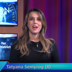 GOP's Tatyana Semyrog Hits Dem Josh Cutler Over Police Reform Bill In State Rep Race Debate