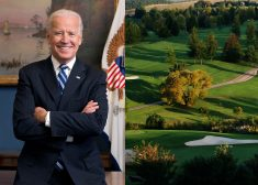 Joe Biden and Country Club Photo — # 3 — Cropped Again — 65 Percent From the Right of the Right Photo — Saved Thursday 10-8-2020