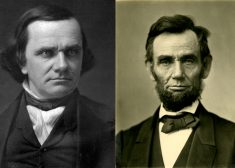 Stephen A. Douglas and Abraham Lincoln Photo — Saved Saturday 10-3-2020