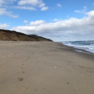 Few People Seen At Federally Mask-Mandated Cape Cod National Sea Shore