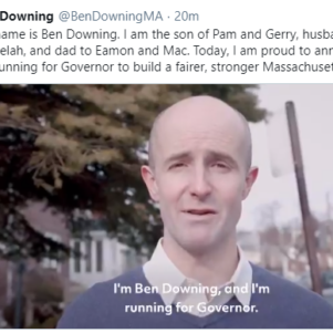Former State Senator Ben Downing Launching Campaign for Governor of Massachusetts