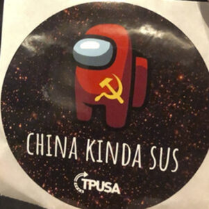 Emerson College Suspends Turning Point USA Chapter Over Stickers Critical Of China